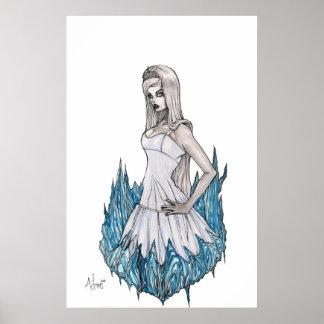 Reina blanca como la nieve póster