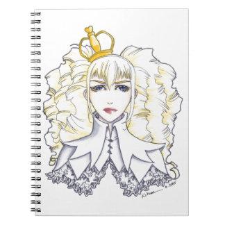 Reina blanca libreta