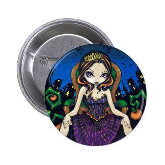 Reina botón de Halloween Pins