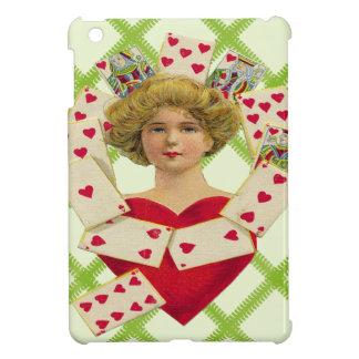 Reina caso del iPad de los corazones del mini