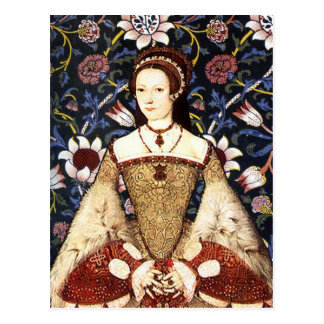 Reina Catherine Parr - postal del retrato