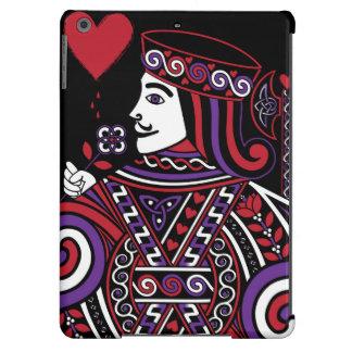 Reina céltica de la parte II de los corazones el Funda Para iPad Air