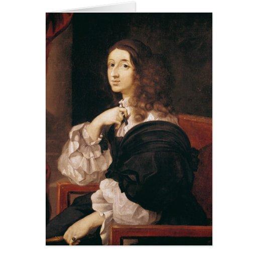 Reina Christina de Suecia Tarjeta De Felicitación