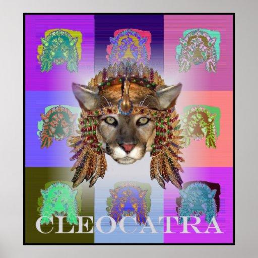 Reina CleoCATra Poster