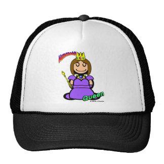 Reina (con los logotipos) gorras de camionero