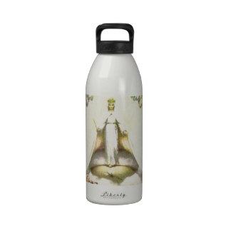 Reina de ángeles botellas de beber