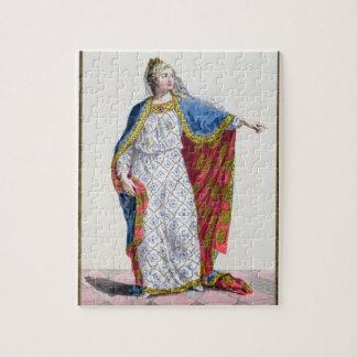 Reina de Blanche de Castile (1185/88-1252) de Fran Puzzles Con Fotos