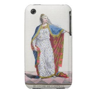 Reina de Blanche de Castile (1185/88-1252) de Funda Para iPhone 3 De Case-Mate