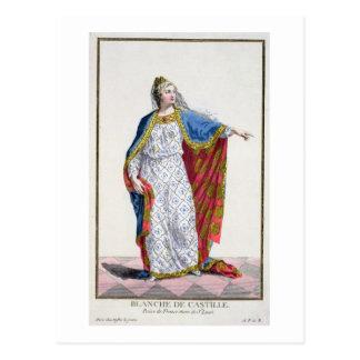 Reina de Blanche de Castile (1185/88-1252) de Tarjeta Postal