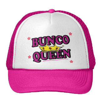 Reina de Bunco Gorros Bordados