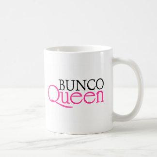 Reina de Bunco Taza Básica Blanca