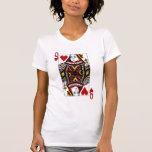 Reina de corazones camiseta