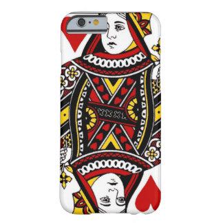 Reina de corazones funda de iPhone 6 slim