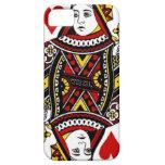 Reina de corazones iPhone 5 Case-Mate protectores