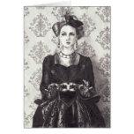 Reina de corazones - Notecard Tarjeta Pequeña