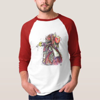 """Reina de corazones"" por Richard Gibbs Camisas"