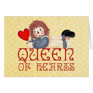 Reina de corazones felicitación