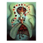 Reina de corazones tarjeta postal