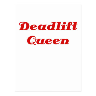 Reina de Deadlift Postal