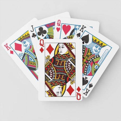 reina de diamonds.png barajas de cartas