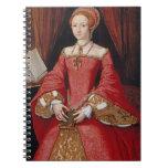 Reina de Elizabeth I del cuaderno de Inglaterra