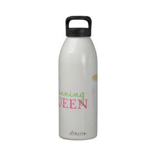 Reina de enlatado botellas de agua reutilizables