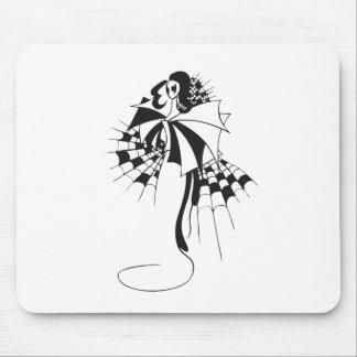 Reina de espadas alfombrillas de raton