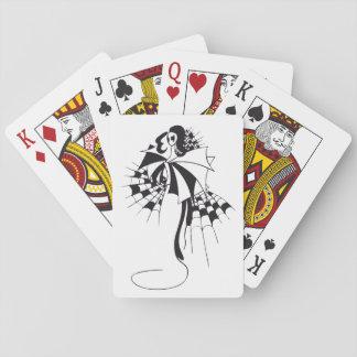 Reina de espadas baraja de póquer