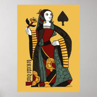 Reina de espadas póster