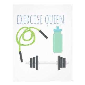 Reina de Exercice Membrete A Diseño