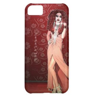 Reina de fricción divertida de encargo funda para iPhone 5C