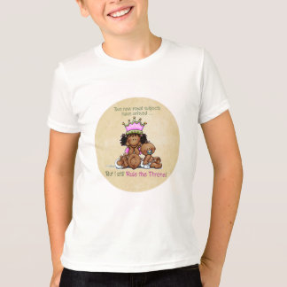 Reina de gemelos afroamericanos - camiseta de la playera
