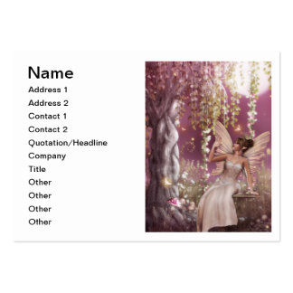 Reina de hadas tarjetas de visita grandes
