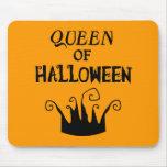 Reina de Halloween Alfombrillas De Raton