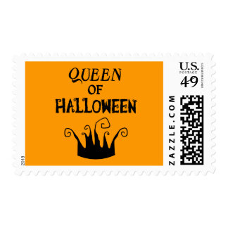 Reina de Halloween Sello Postal