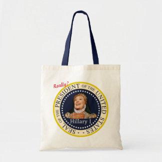 Reina de Hillary Clinton en 2016 Bolsa Tela Barata