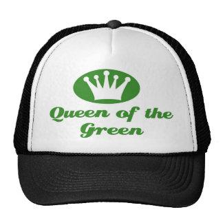 Reina de inglaterra of the green gorros