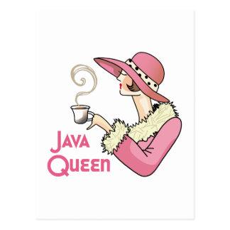 Reina de Java Tarjeta Postal