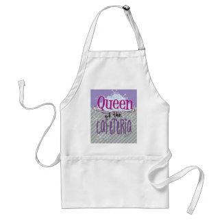 Reina de la cafetería - señora del almuerzo delantal