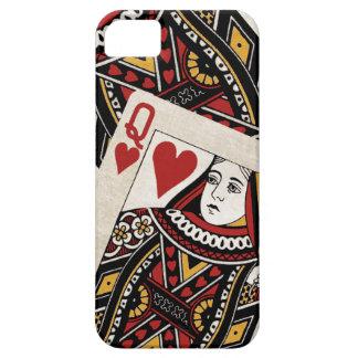Reina de la caja de los corazones iPhone5 iPhone 5 Fundas