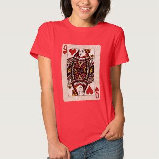 Reina de la camisa de los corazones