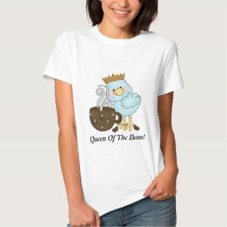 Reina de la camiseta de la haba playera