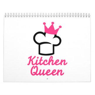 Reina de la cocina calendarios