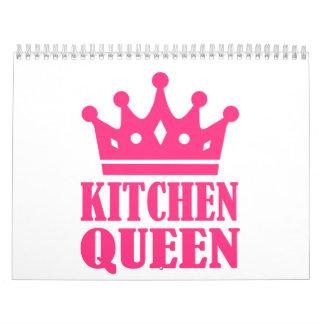 Reina de la cocina calendario