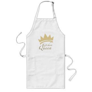 Reina de la cocina delantal largo