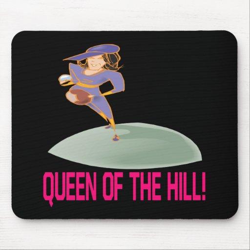 Reina de la colina tapete de raton