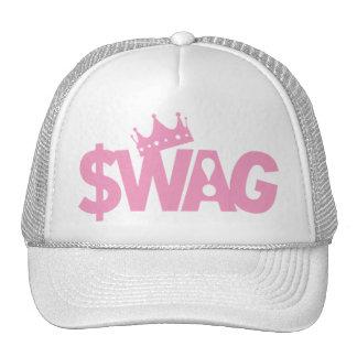¡Reina de la diva del Swag! Gorras De Camionero