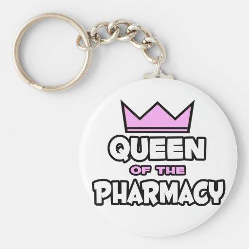 Reina de la farmacia llavero personalizado