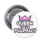 Reina de la farmacia pin