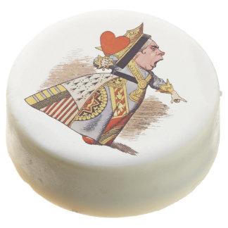 """Reina """"de la fiesta del té enojada del sombrerero"""""""